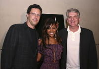 Producer Andrew Karpen, Meagan Good and John Lyons at the after party of the premiere of