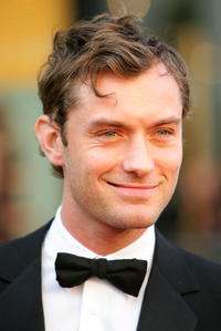 Jude Law at the Metropolitan Opera 2006-2007 season opening in N.Y.