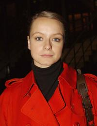 Samantha Morton appears on The Late Late Show.