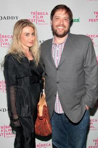 Kat Schaufelberger and Zak Orth at the 2010 Tribeca Film Festival.