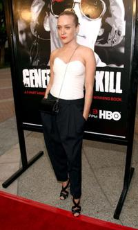 Chloe Sevigny at the premiere of