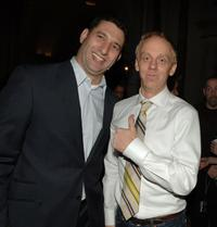 Nick Meyer and Mike White at the after party of the LA premiere of