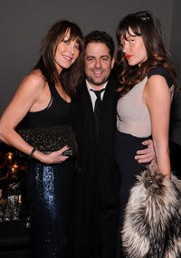 Designer Tamara Mellon, Brett Ratner and Paz De La Huerta at the HELP HAITI benefiting The Ben Stiller Foundation and The J/P Haitian Relief Organization in New York.