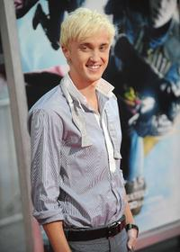Tom Felton at the premiere of