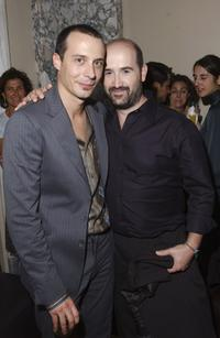 Fele Martinez and Javier Camara at the New York after party of