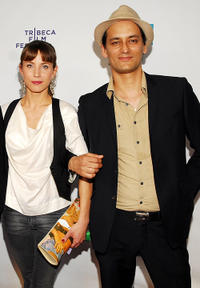 Tuva Novotny and Guest at the Shorts: Mixed Feelings during the 2009 Tribeca Film Festival.