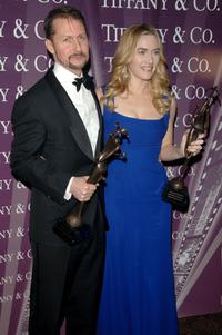 Todd Field and Kate Winslet at the 2007 Palm Springs International Film Fest Awards Gala.
