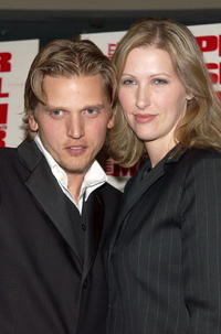 Barry Pepper and his wife Cindy at the premiere of