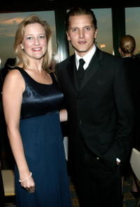 Barry Pepper and Kristin Patterson Jones at The National Guard Conference.