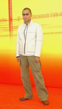 Takashi Miike at the 61st Venice Film Festival.