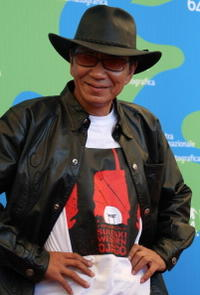 Takashi Miike at the 64th Venice International Film Festival.