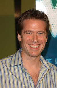 Alexis Denisof at the WB Network's 2002 Summer party in California.