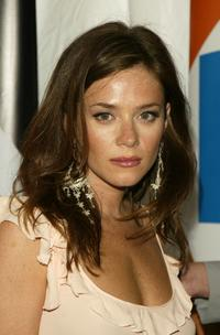 Anna Friel at the after party for the Fox primetime program announcements.