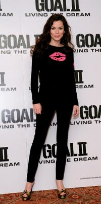Anna Friel at the photocall to promote