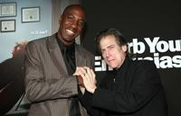 J.B. Smoove and Richard Lewis at the HBO's