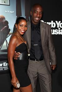 J.B. Smoove and Guest at the HBO's