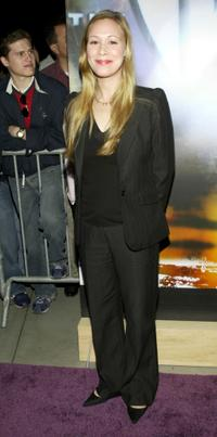 Liza Weil at the WB Networks 2003 Winter Party.