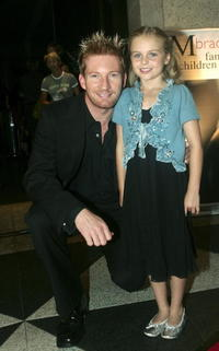 David Wenham and Joanna Hunt-Prokhovnik at the world premiere of