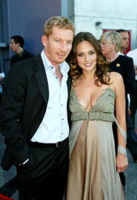 David Wenham and Josie Maran at the world premiere of