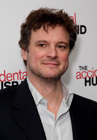 Actor Colin Firth at the London premiere of
