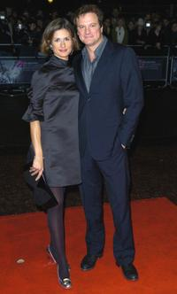 Colin Firth and Livia Firth attend the