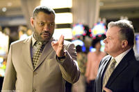 Laurence Fishburne and Jack McGee in
