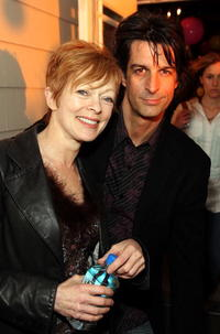 Frances Fisher and musician Jimmy Demers at the Independent Film Channel's 2007 Spirit Awards After Party.