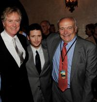 Randall Wallace, Kevin Connolly and writer William Nack at the after party of the premiere of