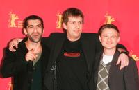 Erdal Yildiz, director Hannes Stoehr and Florian Lukas at the photocall of