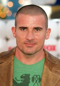 Dominic Purcell at the Fox All-Star Television Critics Association party.