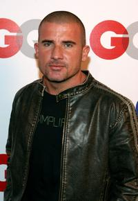 Dominic Purcell at the GQ 2007