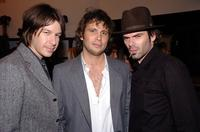John O Jaco, Jeremy Sisto and Billy Burke at the grand opening party of Chrome Hearts clothing and fashion accessories store.