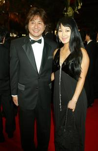 Choi Min-Sik and Guest at the premiere of