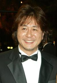 Choi Min-Sik at the premiere of