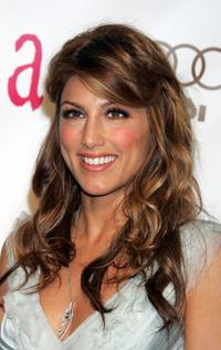 Jennifer Esposito at the 14th Annual Elton John Academy Awards viewing party.
