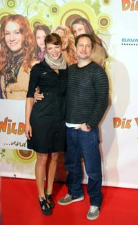 Jessica Schwarz and Benno Furmann at the premiere of