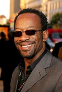 Lennie James at the premiere of