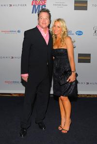 Tom Arnold and Shelby Arnold at the 14th Annual Race To Erase MS.