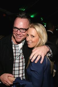Tom Arnold and Shelby Arnold at the LA Confidential Magazine's Annual Oscar Party.
