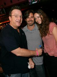 Tom Arnold, Richard Erlich and designer Jenni Kayne at the launch of the Pink Taco.