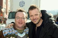 Tom Arnold and Peter Sarsgaard at the Sundance Film Festival '07.