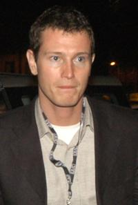 Nick Moran at the aftershow party of Brown Thomas Fashion Show.