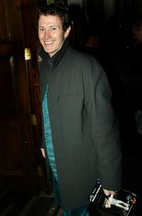 Nick Moran at the Elvis Presley CD Launch Party.