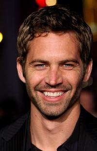 Paul Walker at the California premiere of