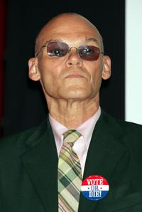 James Carville at the press conference to announce plans for the Citizen Change Campaign.
