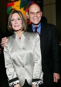 Political consultants Mary Matalin and James Carville at the California premiere of