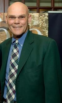 James Carville at the cocktail party to announce the premiere issue.