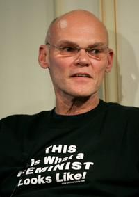 James Carville at the press conference of