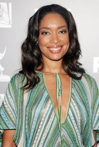 Gina Torres at the 20th Century Fox Television and FOX Broadcasting Company 2006 Emmy party.