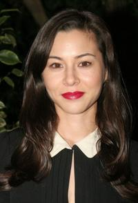 China Chow at the dinner celebrating the publication of